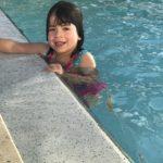 I don't swim often, but when I do it is like a fishy.